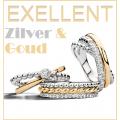 Excellent zilver en goud juwelen