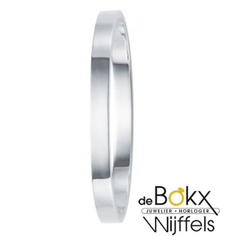Armband Bangels zilver 6mm - 51128