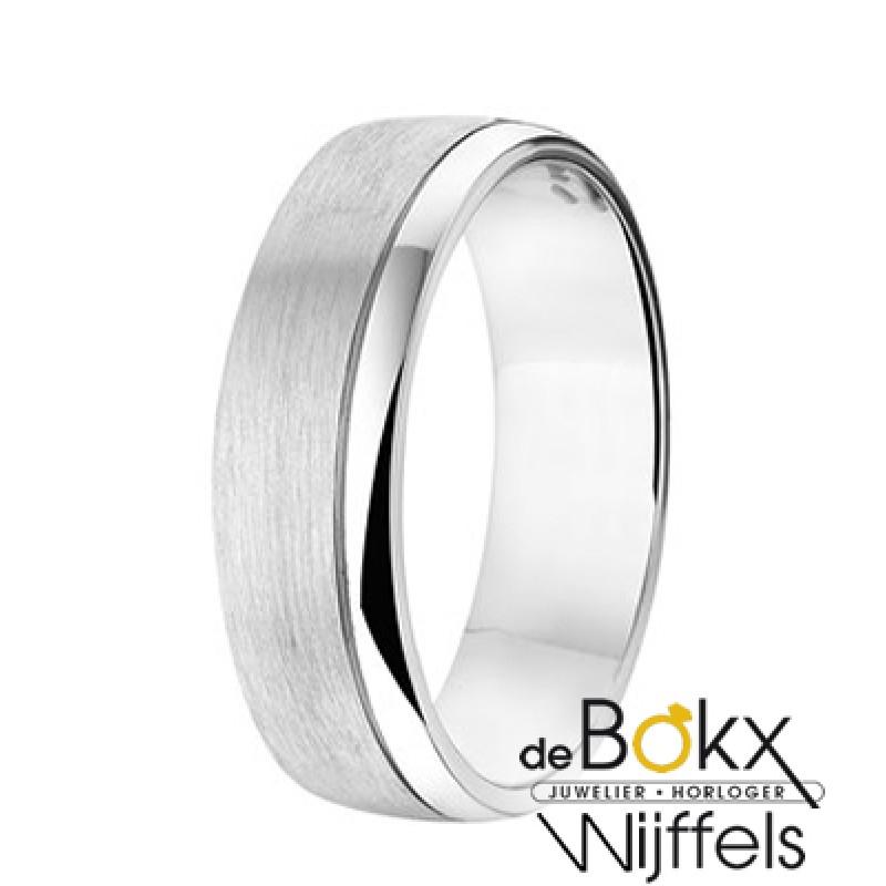 Trouwring zilver - 55456