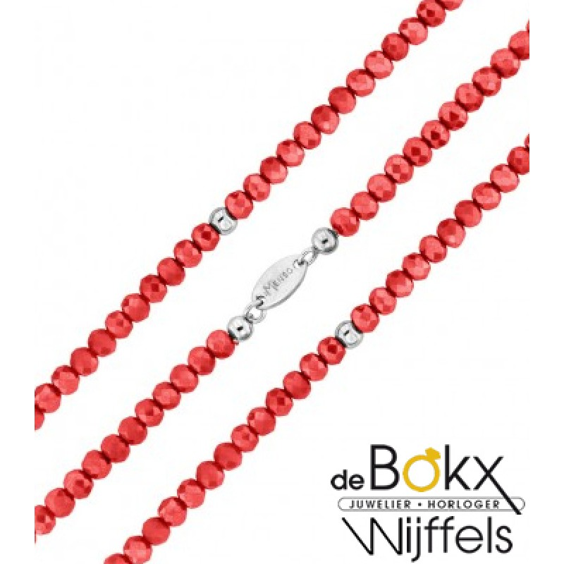 My imenso armband rood kristal - 54739