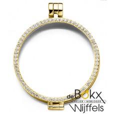 Actie My iMenso Medaillon goud kleurig met zirkonia 33-0071 - 50349