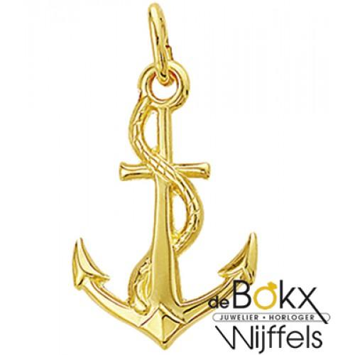 Anker hanger in goud - 56422