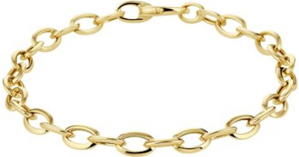 Gouden sieraden :: Gouden schakel armband Anker 4020520