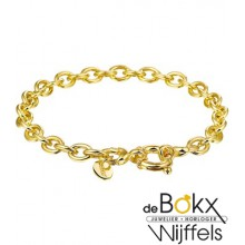 Massief gouden armband 18.5cm - 53231
