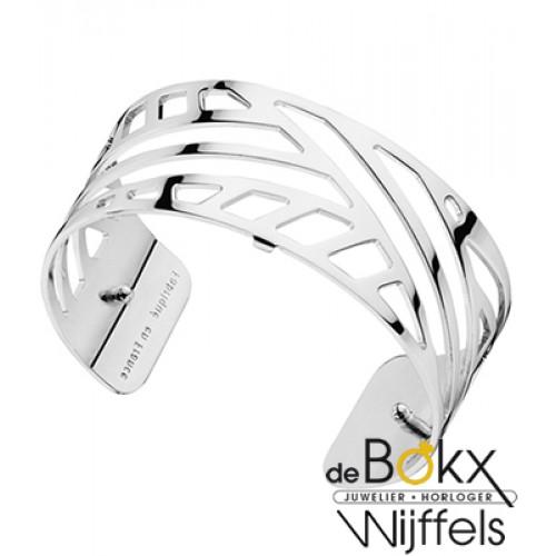 Armband ruban 25mm les Gorgettes zilver - 55796