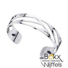 Armband ruban 14mm les Georgettes zilver - 55795