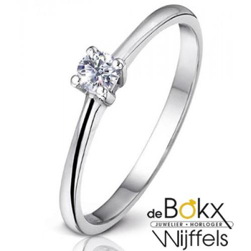 Diamanten verlovingsring maat 54 - 54570