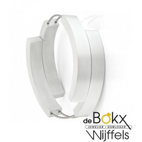Clic by suzanne armband A33 mat glimmend met vier bogen met dubbele magneetsluitingen - 56286