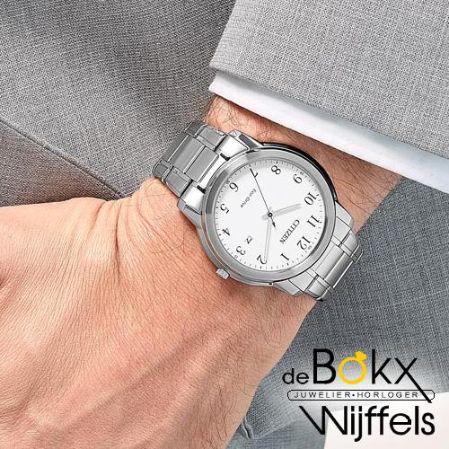 Duidelijk Citizen heren horloge AW1211-80A - 56860