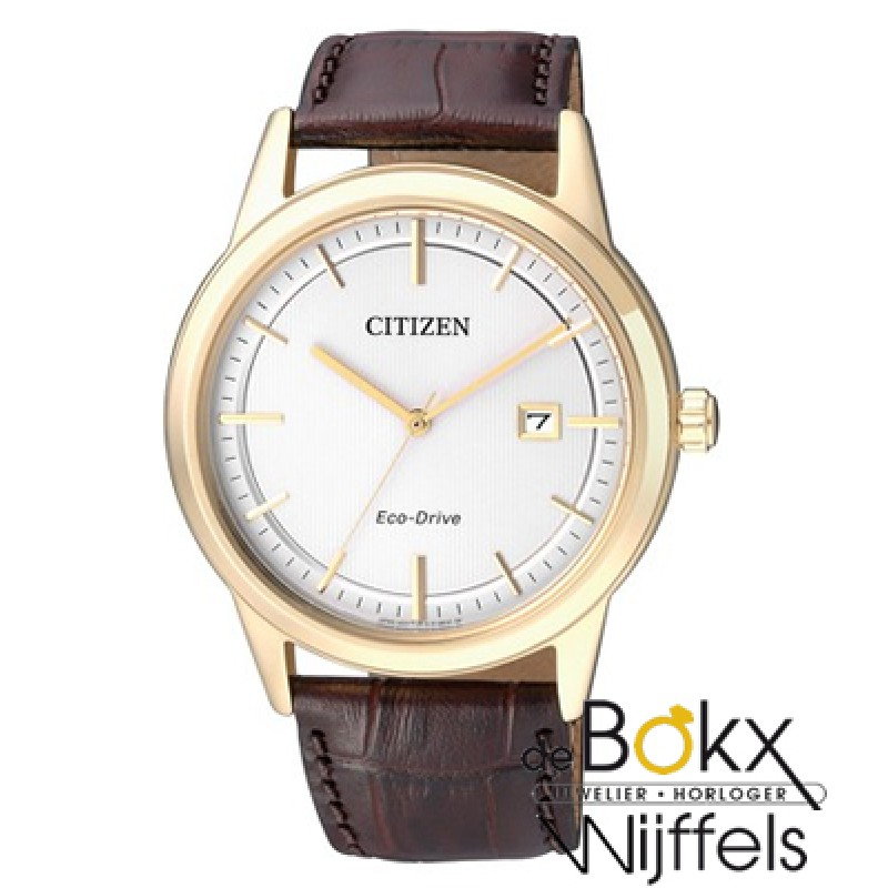 Citizen Eco-drive heren horloge AW1233-01A - 54840