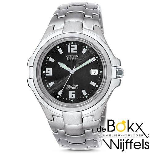 Citizen heren horloge titanium BM1290-54F - 53401
