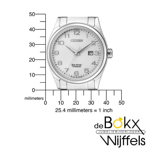 Duidelijk Citizen heren horloge BM7360-82A - 54723