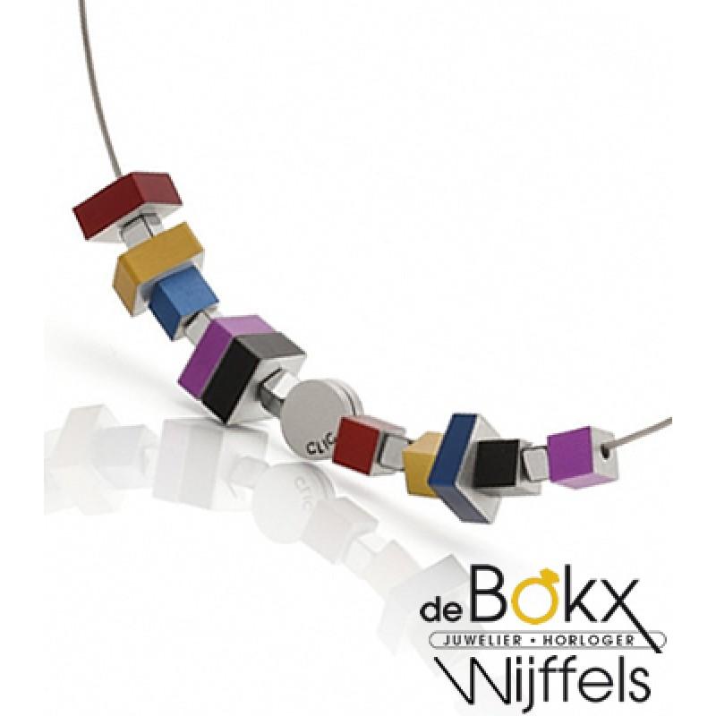 Clic by suzanne collier met een mix van gekleurde ...