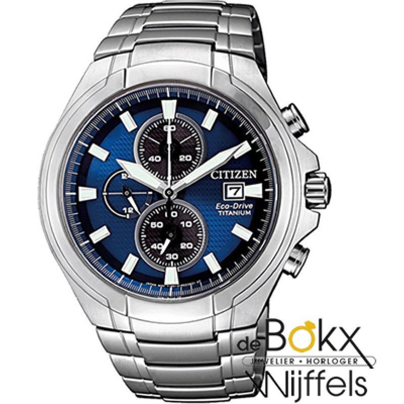 Citizen CA0700-86L horloge eco-drive super titanium - 56118