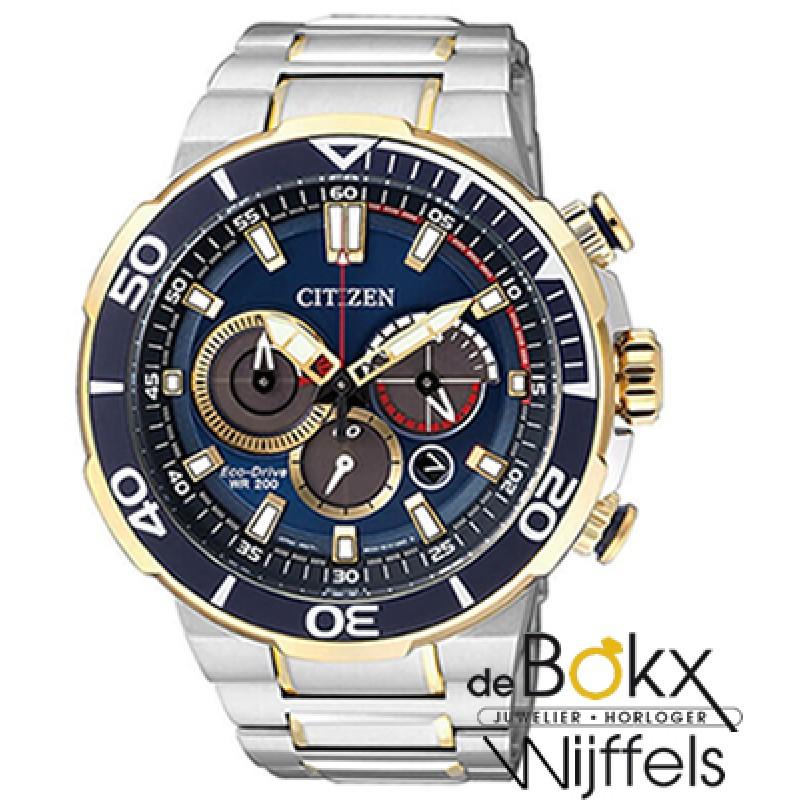 citizen chronograaf eco-drive heren horloge CA4254...