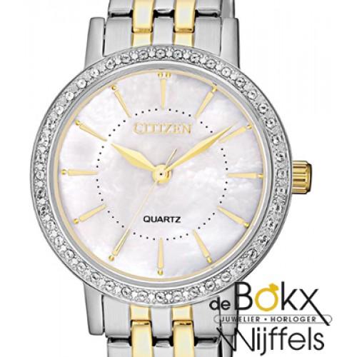 Citizen dameshorloge quartz EL3044-89D - 56447