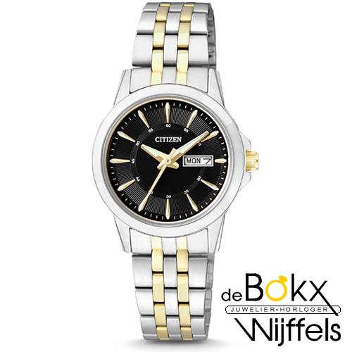 Citizen dames horloge EQ0608-55E - 55302