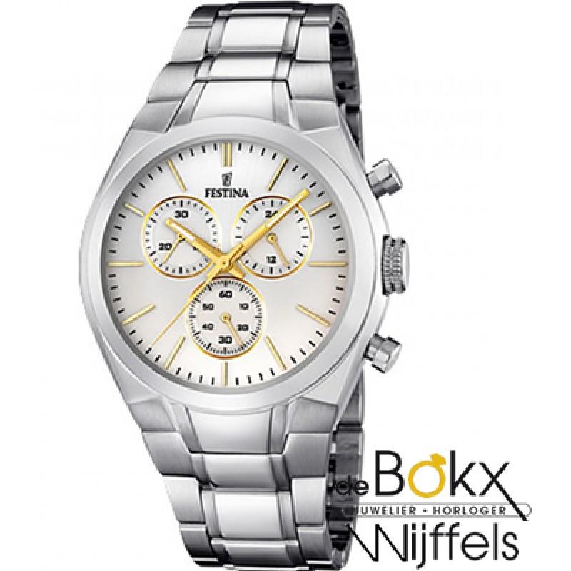 Festina heren horloge chronograaf F16782/4 - 52291