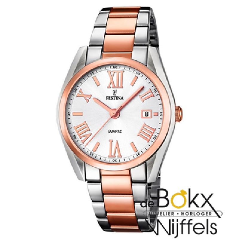Festina dames horloge rozé F16795/1 - 52296