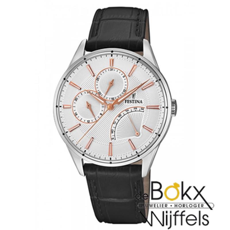 Festina F16974/1 Retro Heren Horloge - 54614