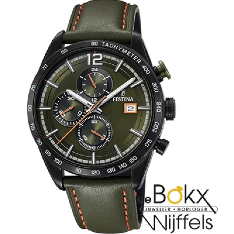 Festina chronograaf sport horloge F20344/6 - 56381