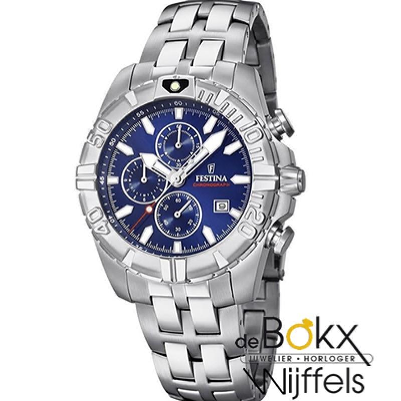 Festina chrono sport horloge F20355-2 - 56250