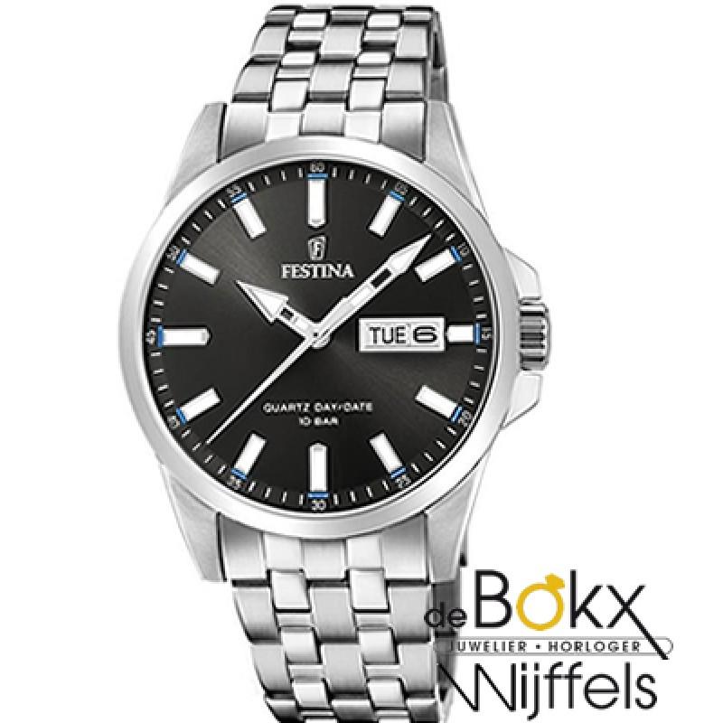 Festina dag datum sport horloge F20357-2 - 56385