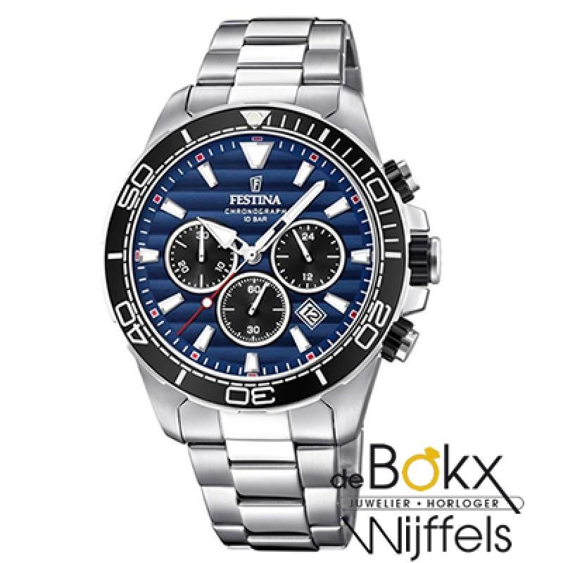 Festina chronograaf sport horloge F20361-3 - 56251