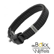 Armband heren fossil Leer - 52803