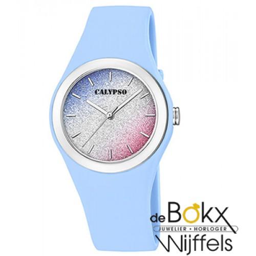 Blauw calypso tiener horloge - 56464