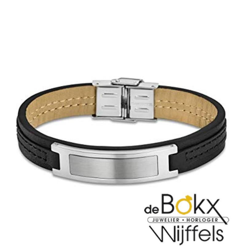 Lotus style armband leer heren LS1808 2-2 - 56932