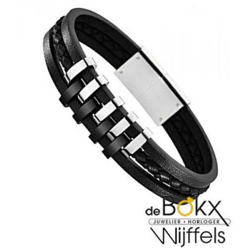 Lotus style armband leer - 55852