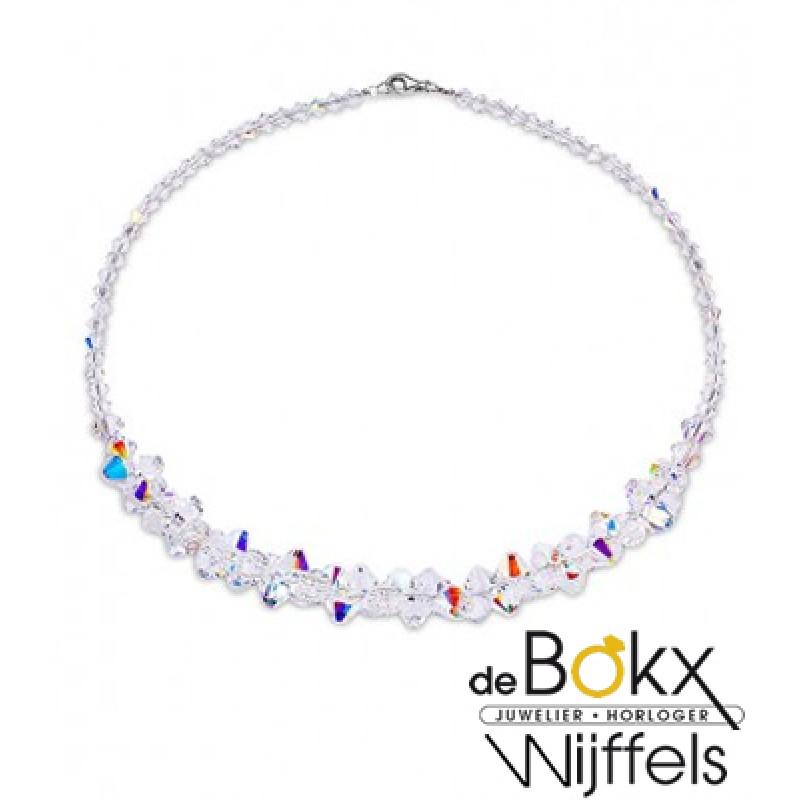 Spark Bicone kralen collier - 54154